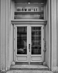 18th Street West (17) 101 (shooting all the buildings in Manhattan) Tags: door nyc newyorkcity ny newyork architecture us manhattan 18thstreet february 2016