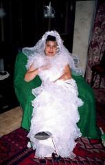 Selime in bridal gown, Polyanovo (ali eminov) Tags: indoors bulgaria dresses gowns selime bridalgowns bulgaristan polyanovo