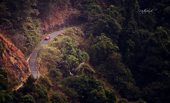 Let's Road! (Nitz_Foto) Tags: road travel green car forest canon evening kerala ghat kozhikode kakkayam