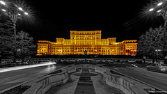 The Palace of the Parliament in Bucharest, Romania (Pawe Szczepaski) Tags: romania express ro yourself sincity expressyourself greatphotographers bucureti shockofthenew flickrdiamond exoticimage extraordinarilyimpressive municipiulbucureti