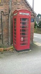 Phone Box at Atcham (davidtimms86) Tags: cameraphone post pole 535 redphonebox atcham lumia micosoft nrshrewsbury