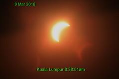 Solar partial eclipse on 9 Mar 2016 (Lim SK) Tags: solar eclipse partial