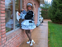 Being useful? (jensatin4242) Tags: sissy transvestite maid crossdresser petticoat sissymaid jensatin