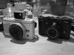 X20 (X20 by Fujifilm) (Paul_ (shin.ogata)) Tags: camera fuji optical olympus nakano finder x20 ep1 fujiya
