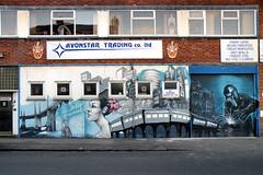 Barn Street (R~P~M) Tags: street uk greatbritain england urban art graffiti birmingham mural unitedkingdom westmidlands digbeth