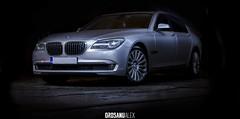 BMW 720d (Orosanu Alex) Tags: light lightpaint automotive auto bmw german germancar bucharest bucharestnight bmw720 720d series7 2012 worldcars