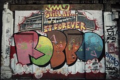 Robbo, still at it forever...... (davidpiano92) Tags: london graffiti robbo
