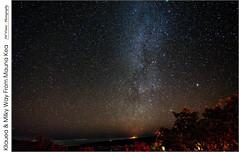 Kilauea & Milky Way From Mauna Kea (jwvraets) Tags: stars volcano hawaii nikon gimp astronomy nightsky opensource kilauea maunakea darksky milkyway visitorcentre d7100 rawtherapee nikor1224mm