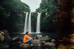 Kurshid (Djuneid) Tags: portrait water forest canon landscape is waterfall model outdoor serene usm mauritius f4 saintaubin ndfilter f4l ef2470 ef2470mm 10stop 5dmkii