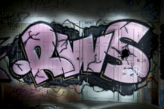 Hidden Spaces: Pink RWS  Night-Pieces BXLV - 1032x (Jupiter-JPTR) Tags: germany graffiti bonn industrial nightshots feier nightvisions rws jptr hiddenspaces abandonedarea nightpieces bnarea