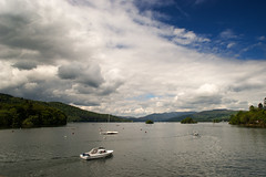The things you would and wouldn't do (OR_U) Tags: uk england sky lake water weather clouds forest boats hills cumbria oru lakewindermere 2016