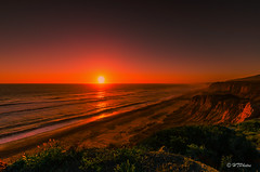 Coastline Sunset... (Jay HTP) Tags: ocean sunset mars cliff beach coast coastline southerncalifornia coastalcliff d7000 nikond7000 htphotos