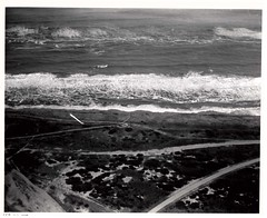 cape point 22Feb1969 (CapeHatterasNPS) Tags: capehatteras aerialphotograph hydrology capehatterasnationalseashore