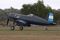 F4U-5N VH-III 14 (joolsgriff) Tags: airshow corsair chance warbird 2016 vought tyabb f4u5n 124493 ytya fah603 peninsulaaeroclub vhiii