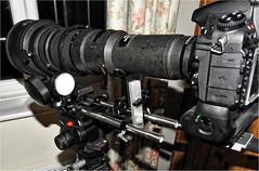 Stability Vibration test on a Nikon 800mm Super Telephoto Lens (paulrichards2) Tags: vibration stability longlenses 800mmlens