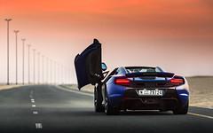 650S (Alex Penfold) Tags: blue sunset cars alex car dubai super east mclaren autos middle supercar supercars penfold 2015 650s