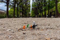 Let's protect our planet (Ballou34) Tags: trees orange plant paris green canon toy toys photography eos rebel star starwars flickr lego stuck cone earth ground plastic stormtrooper wars afol 2016 minifigures toyphotography 650d t4i eos650d legography rebelt4i legographer stuckinplastic ballou34