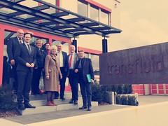 Besuch bei Firma Transfluid in Schmallenberg