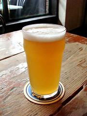 Bridge Brewery Kolsh Wassail (knightbefore_99) Tags: bridge canada church beer glass bar vancouver real pub bc main cerveza sunday ale craft tasty whip local pint camra cask pivo wassail kolsh