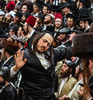 Dance me to the end (ybiberman) Tags: man drunk feast israel dancing candid jerusalem streetphotography happiness purim alcohol hasidic tallit payot breslov meahshearim