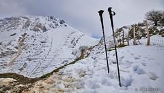 Txindoki neguan (Unai Huizi) Tags: snow textura trekking elurra mendia euskal herria negua txindoki mendigoera