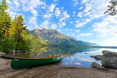 IMG_6793 (fredbaldassaro) Tags: lake nationalpark grand canoe wyoming grandtetons tetons