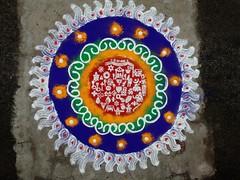 #happy #Gudhipadawa #Rangoli (RohitKale) Tags: happy rangoli gudhipadawa