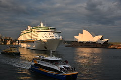 water traffic (sabinakurt62) Tags: city autumn water beautiful ferry architecture photography boat nikon ship waterfront sydney australia circularquay attraction theoperahouse theroks