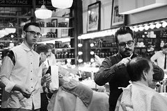 BarberBarber (Boothingtons) Tags: light white black detail contrast traditional barbershop rockabilly pinstripe