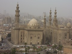 Egypt (Cairo) Mosque and Madrasa of Sultan Hassan (ustung) Tags: building architecture nikon outdoor egypt mosque cairo madrasa sultanhassan