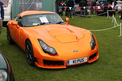 TVR Sagaris (JoRoSm) Tags: show orange classic cars sports performance vehicles british autos coupe supercar automobiles sportscar tvr sagaris 2011 backpool k1pus
