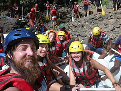 Ready to raft the Zambezi River (little_duckie) Tags: africa rafting zimbabwe whitewaterrafting zambezi zambeziriver