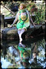 Politoed Gijinka (greyloch) Tags: cute friend pretty cosplay pokemon richmondva 2015 gijinka filterforge maymontestate
