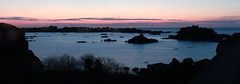 See sunset in Brittany (tristan.serobac) Tags: longexposure sunset mer nature see brittany outdoor bretagne coucherdesoleil ploumanach tregastel ctedegranitrose