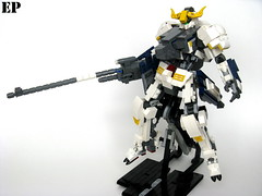 Gundam Barbatos 5th Form (ExclusivelyPlastic) Tags: mobile japan japanese robot lego orphans suit gundam mecha mech barbatos ironblooded
