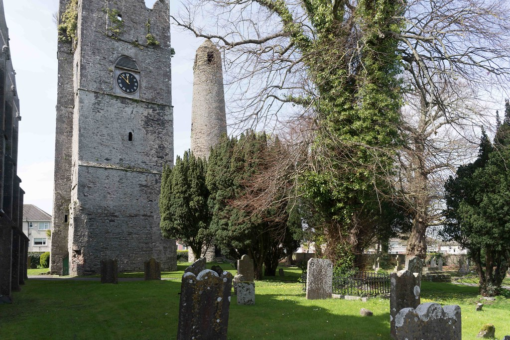 St. Columba's Church And Grounds In Swords County Dublin [Church Road]-115219