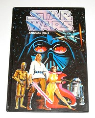 star wars annual number 1 stan lee presents star wars episode IV marvel comic adaptation rainbow books brown watson 1978 hard cover book (tjparkside) Tags: new brown comics four rebel hope one star 1 book rainbow comic fighter princess no c 4 luke wing hard books x number stan cover presents lee darth watson r2d2 empire cape xwing 1978 lightsaber wars annual vader marvel r2 iv sith episode droid adaptation d2 leia no1 c3po blaster adapted skywalker rebels droids farmboy organa 3po