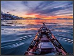 P2250092 kopi (Stnevert) Tags: sunset kayak kayaking narvik padling visitnorway narvikhavn visitnarvik