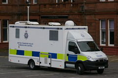 BRITISH TRANSPORT POLICE COMMAND AND CONTROL UNIT N1BTP (bobbyblack51) Tags: station control transport police daily and british ayr command iveco unit 2016 70c17 n1btp