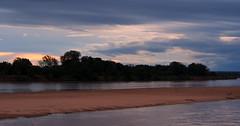 Sun setting over the Luangwa River as Crocodiles chill out on the sandy banks (little_duckie) Tags: africa elephant zebra giraffe hippopotamus hyena zambia bigfive southluangwa southluangwanationalpark