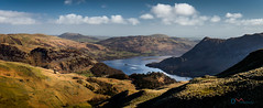 Ullswater Spring Morning (Dave Massey Photography) Tags: panorama mountains lakedistrict fells patterdale ullswater placefell gowbarrowfell