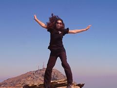 Ikarian Ridge Walk Dec 18 17 (angeloska) Tags: flying december ikaria aegean ridge greece icarus prettygirl hikingtrails   atheras scenictrail freespaces transikariantrail  opsikarias
