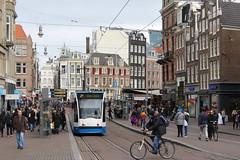 Tram line 2 (Davydutchy) Tags: holland netherlands amsterdam canal trolley capital hauptstadt nederland tram streetcar paysbas niederlande gracht hoofdstad strasenbahn