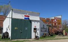 Old Service Station (Comstock, Nebraska) (courthouselover) Tags: nebraska ne sandhills comstock greatplains gasstations custercounty