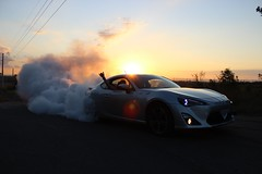 Burnouts in 'Mexico' (Zuxmo) Tags: sunset sydney australia nsw toyota burnout 86 brz