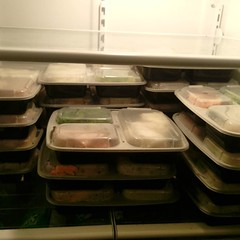 21 meals prepped for the next week. I've been having a huge struggle with my squats (in particular my left knee and tightness in my hamstrings and glutes) over the past couple of weeks. I've been consistently missing lifts and my motivation is way down. I (swoletron) Tags: bodybuilding health fitness gym fit nutrition lifting powerlifting beastmode instagram doyouevenlift