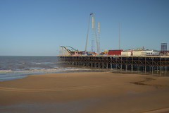 South Pier at Blackpool (CoasterMadMatt) Tags: building beach architecture march pier spring sand photos piers south structure photographs shore beaches sands blackpool southshore seasideresort southpier 2016 nikond3200 seasidetown northwestengland englishbeaches coastermadmatt coastermadmattphotography spring2016 march2016 blackpool2016