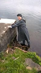 WP_20160501_16_18_07_Pro (Kleppergarry) Tags: vintage rubber raincoat wellies gummistiefel klepper kleppermantel kaputze gummimantel