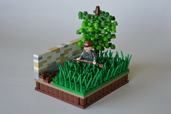 On the Western Front (~J2J~) Tags: tree brick wall lego front western ww2 brickarms brickforge citizenbrick