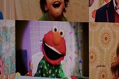 suddenly I'm living in Elmo's World (judecat (mostly hibernating))) Tags: television tv elmo sesamestreet elmosworld childrensshows